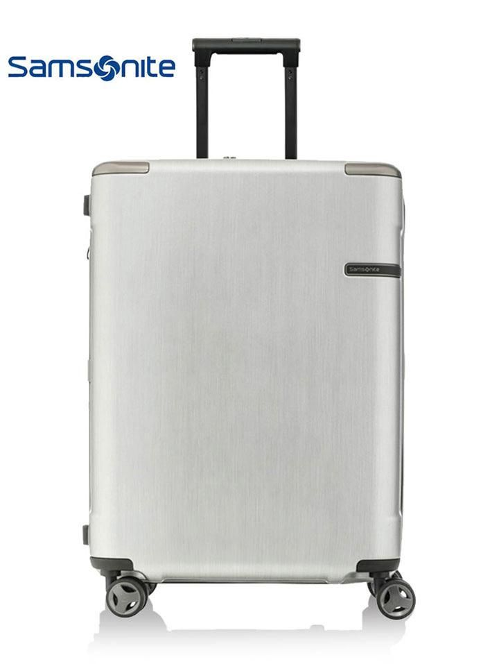 新秀丽/Samsonite 拉杆箱 Evoa系列 EXP 25寸 DC0*07004 -BRUSHED SILVER