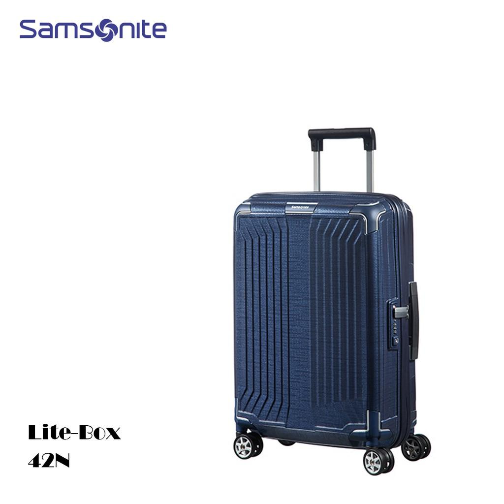 新秀丽/Samsonite 拉杆箱 LITE-BOX 42N*11001 20寸 -深蓝